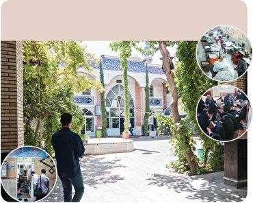 باشگاه خبرنگاران -همه اتفاقهای خوب یک مسجد + تصاویر