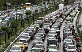 وضعیت ترافیکی معابر بزرگراهی تهران در سیام مردادماه