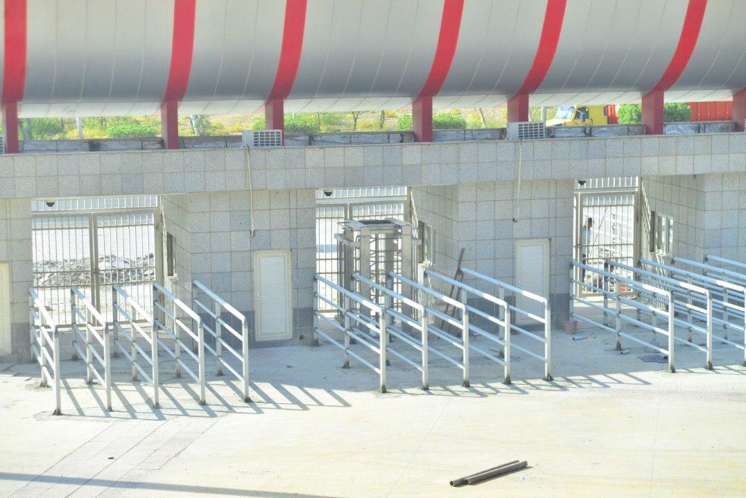 ورزشگاه شهدای فولاد آماده میزبانی از رقابتهای لیگ برتر فوتبال ایران