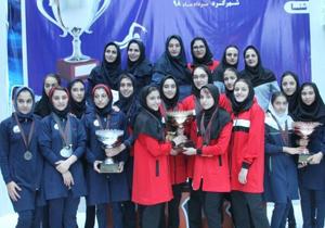 معرفی برترینهای مسابقات ورزش دانشآموزان دختر در رشته شنا