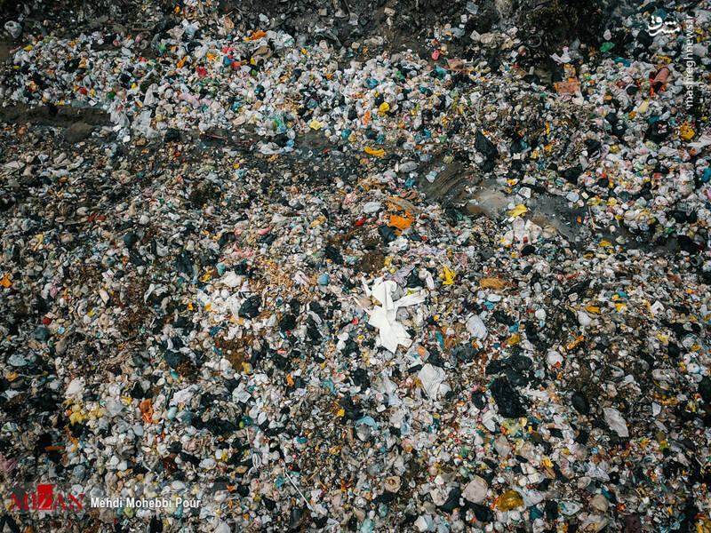 تصاویر تکان دهنده از دریای زبالهها در سواحل خزر!