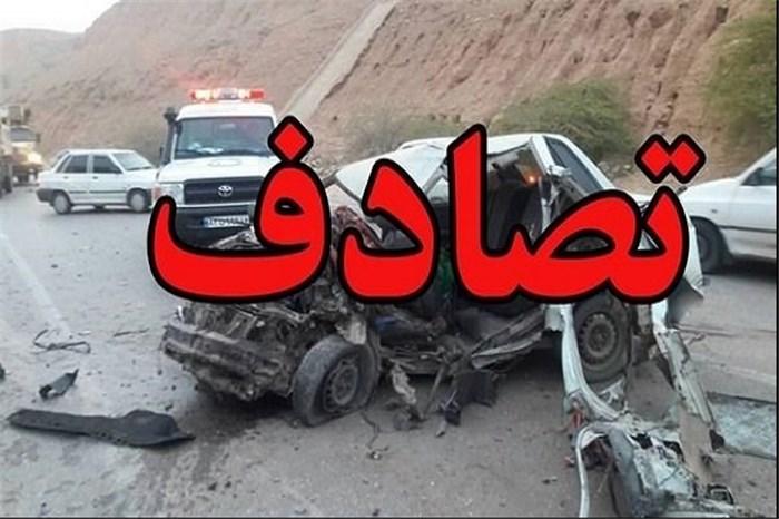 حادثه سوم  امروز آزاد راه ساوه- همدان با ۵ کشته و مصدوم /۹ کشته و ۲۸ مصدوم در محور ساوه- همدان در مدت یک ماه