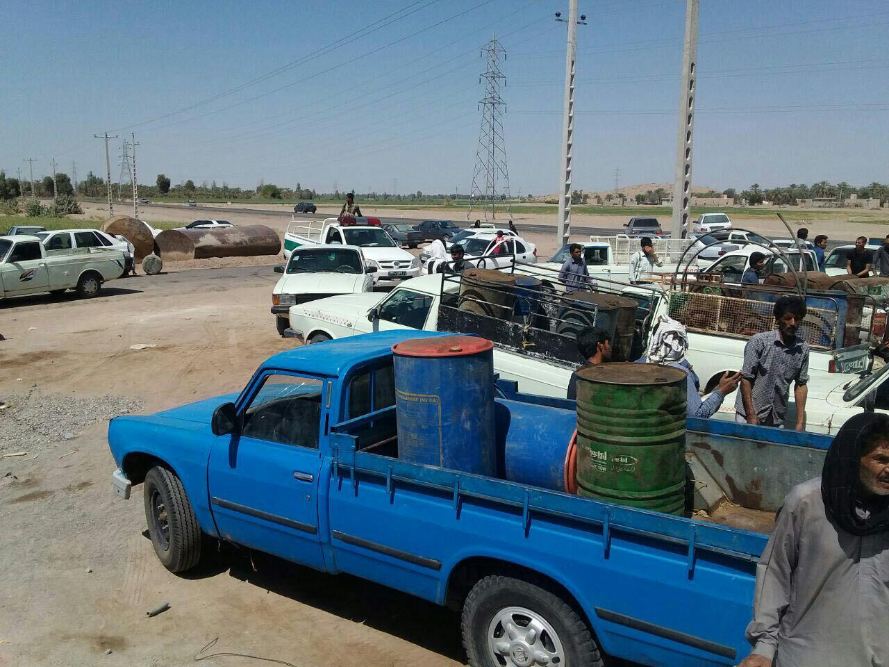 کشف ۲۶ هزار لیتر گازوئیل قاچاق در عملیات پلیس کرمان/ دام قاچاق به مقصد نرسید