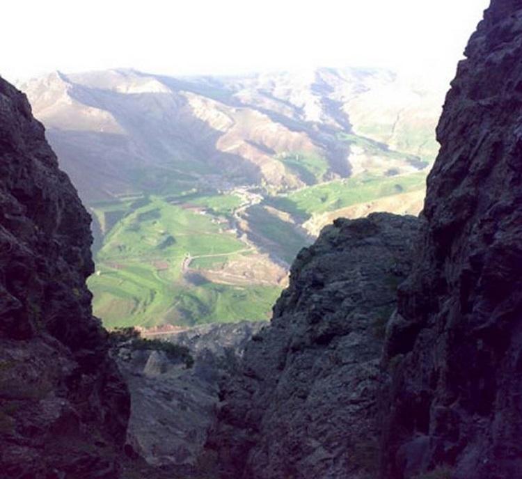 همه چیز درباره دره ای خوفناک در ایران / اینجا جهنم دره است! + تصاویر