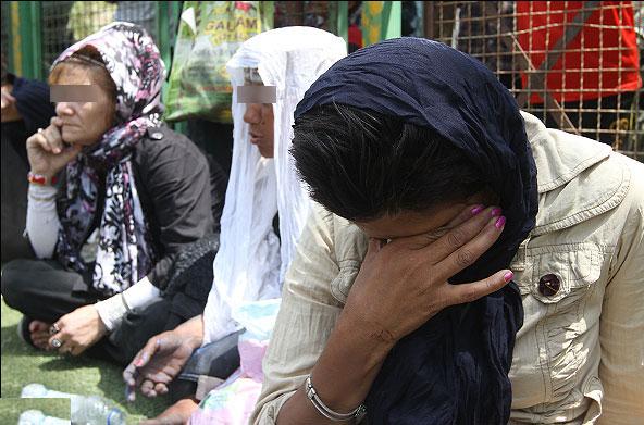 ///// پس از تایید آقای عابد منتشر شود/////گلایه رئیس پلیس مبارزه با موادمخدر از نبود ظرفیت بازپروری برای معتادان متجاهر زن