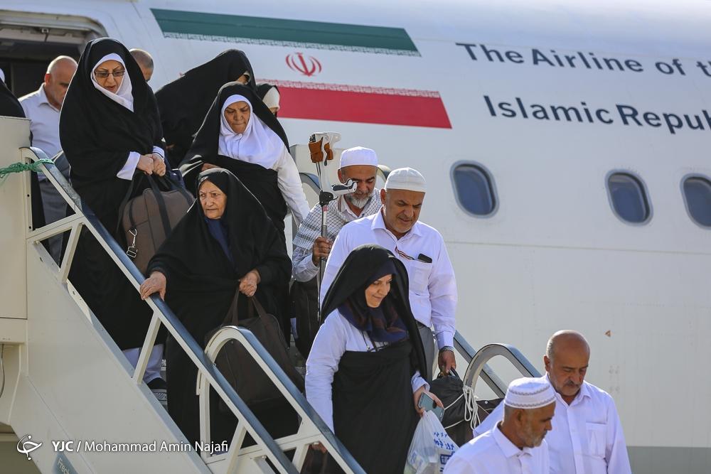 ۱۹ هزار و ۵۰۷ حاجی ایرانی به کشور بازگشتند