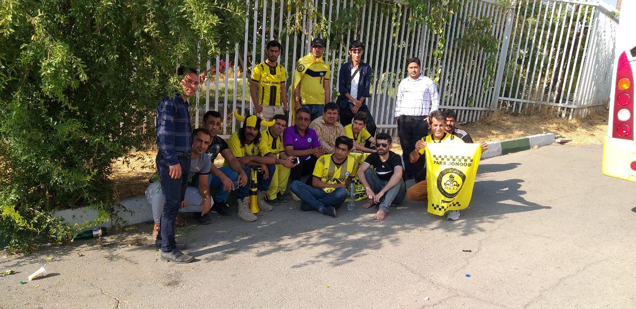 حواشی پیش از دیدار تیمهای فوتبال پرسپولیس - پارس جنوبیجم