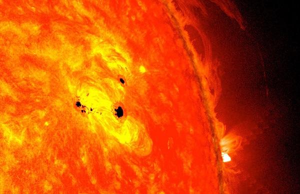 کشف طوفانهای نابودگر روی سطح خورشید