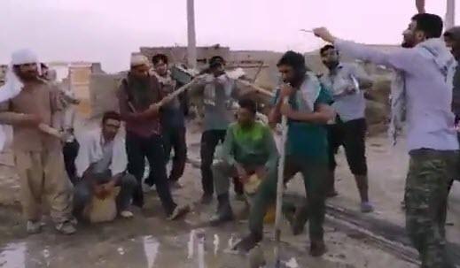 اجرای متفاوت کنسرت رضابهرام توسط گروه جهادی در سیستان و بلوچستان +فیلم
