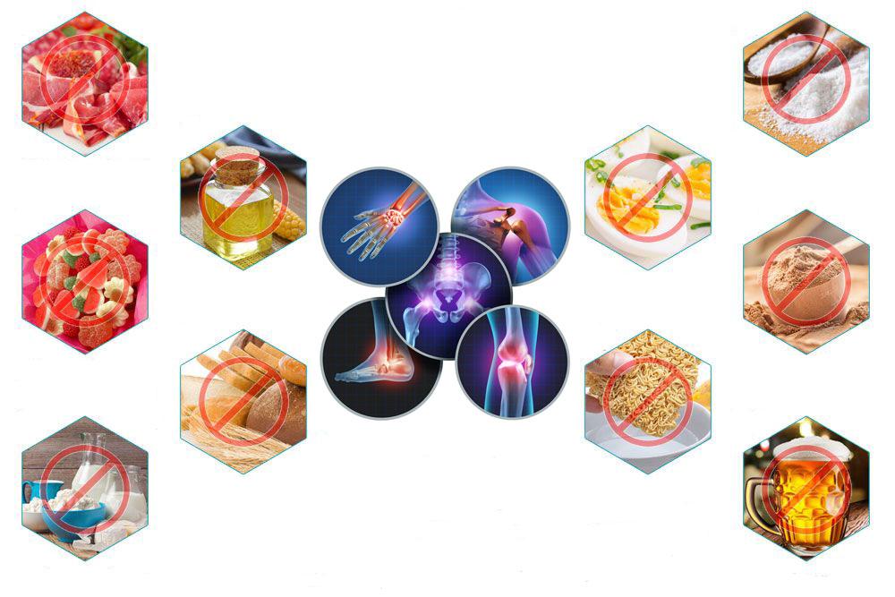 مواد غذایی که درد مفاصل را تشدید میکند