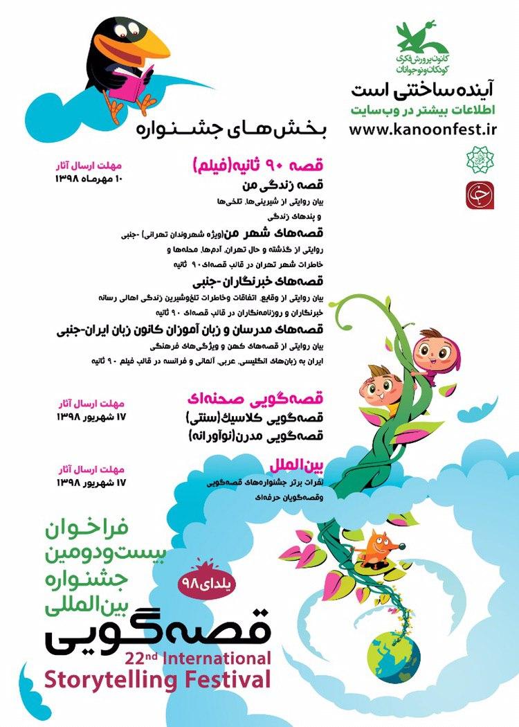 برگزاری کارگاه مهارت قصهگویی در کانون پرورش فکری کودکان و نوجوانان استان خوزستان