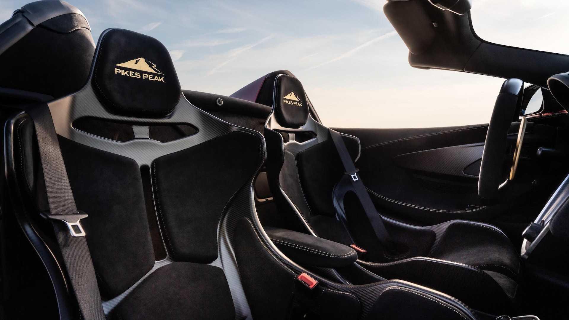 نمایش مجموعه زیبا از خودروی سوپر اسپرت 600LT Spider مکلارن در آمریکا +تصاویر