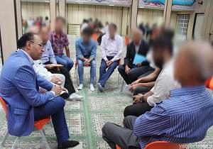 نشست ابتکاری چهره به چهره در زندان یزد برگزار شد