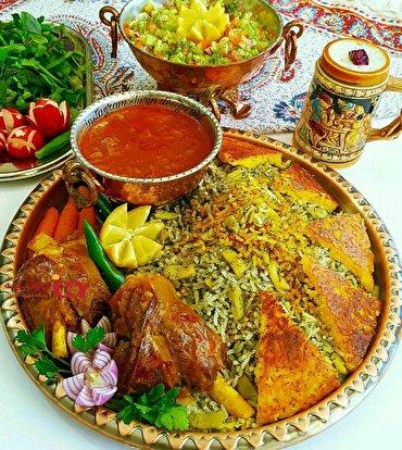 باشگاه خبرنگاران -شیرین پلو با مرغ غذای مجالس شادی + طرز تهیه