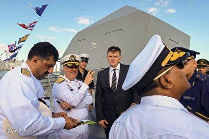 حضور امیر خانزادی در روز نیروی دریایی روسیه