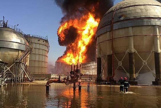 حادثه آتش سوزی در پتروشیمی شهید تندگویان تکذیب شد