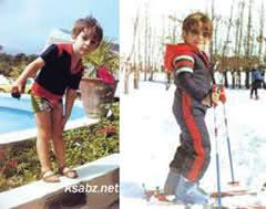 دوران کودکی محمدرضا گلزار +تصاویر