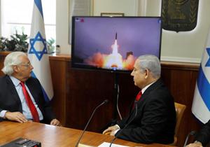 بی اعتنایی بیبیسی به آزمایش موشکی مضحک اسرائیل! + فیلم