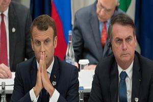 رئیسجمهور برزیل: مکرون ذهنیتی استعمارگر دارد