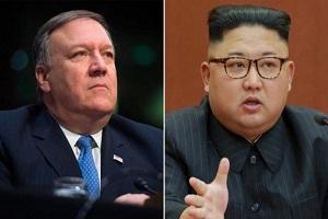التماس پمپئو به کیم جونگ اون برای بهبود روابط دوجانبه
