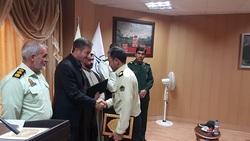 معرفی فرمانده جدید پلیس فرودگاه یاسوج