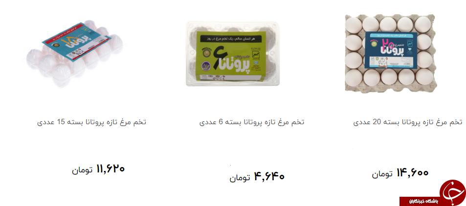 انواع تخم مرغ بسته بندی در بازار به چه نرخی به فروش می رسد؟ + قیمت