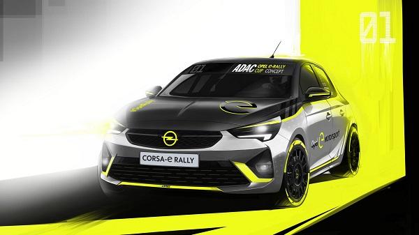 خودروی Opel Corsa-e، اولین اتومبیل برقی رالی