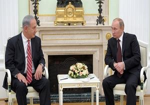 گفتوگوی تلفنی پوتین با نتانیاهو درباره سوریه