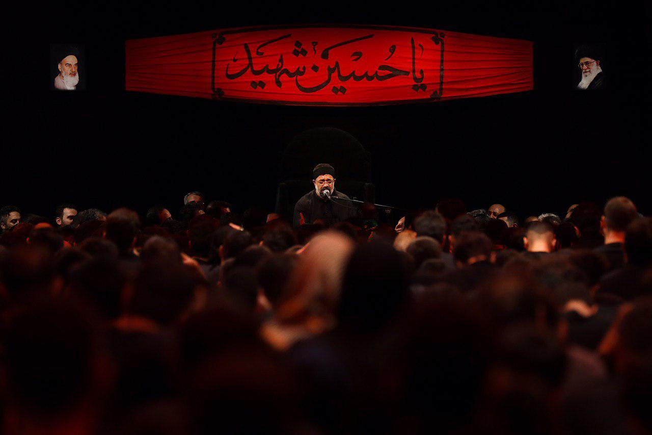 مداحی محمود کریمی روز دوم محرم ۹۸