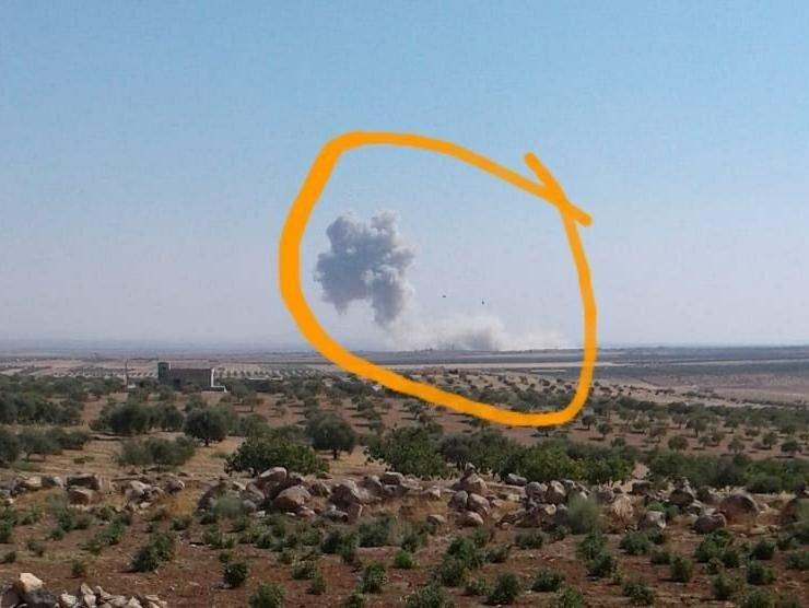 حمله موشکی آمریکا به نیروهای روسیه در ادلب