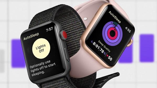 فعال شدن حسگر ردیابی خواب در ساعتهای هوشمند اپل