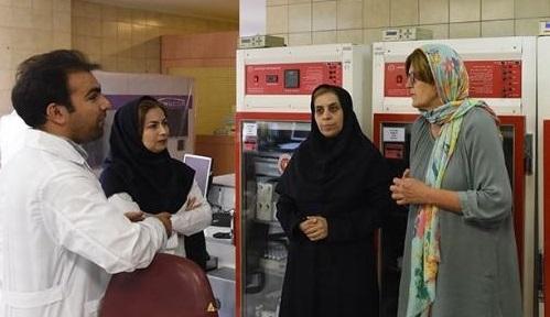 مسئول بانک خون بند ناف هلند برای همکاری با سازمان انتقال خون ایران اعلام آمادگی کرد