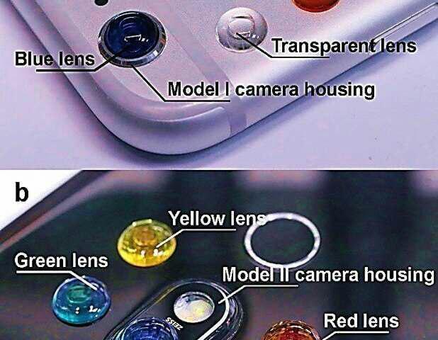 تبدیل تلفن هوشمند به میکروسکوپ فلوئورسنت