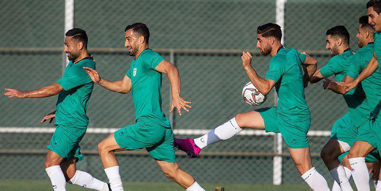 آخرین تمرین تیم ملی ایران پیش از سفر به هنگ کنگ برگزار شد