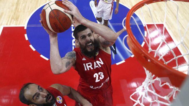 تیم ملی بسکتبال ایران - اسپانیا / گزارش لحظه به لحظه