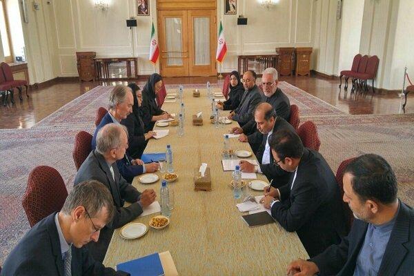 خاجی با نماینده ویژه دبیر کل سازمان ملل متحد دیدار کرد