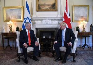 نتانیاهو برای مقابله با ایران دست به دامن بوریس جانسون شد