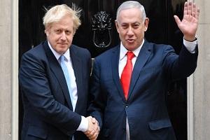 دست رد بوریس جانسون به سینه نتانیاهو  برای توقف گفتوگو با ایران