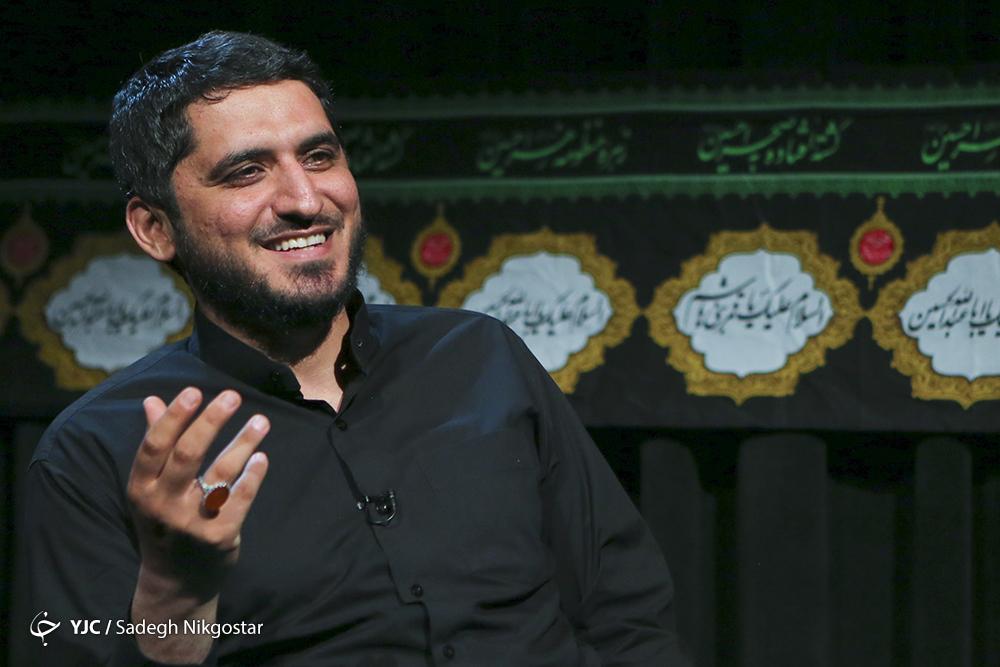 امیر عباسی در برنامه مثبت اشک