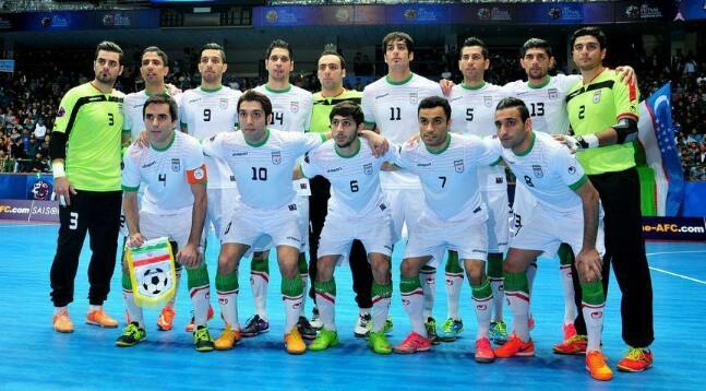 تیم ملی ایران در جایگاه سوم و اول آسیا باقی ماند