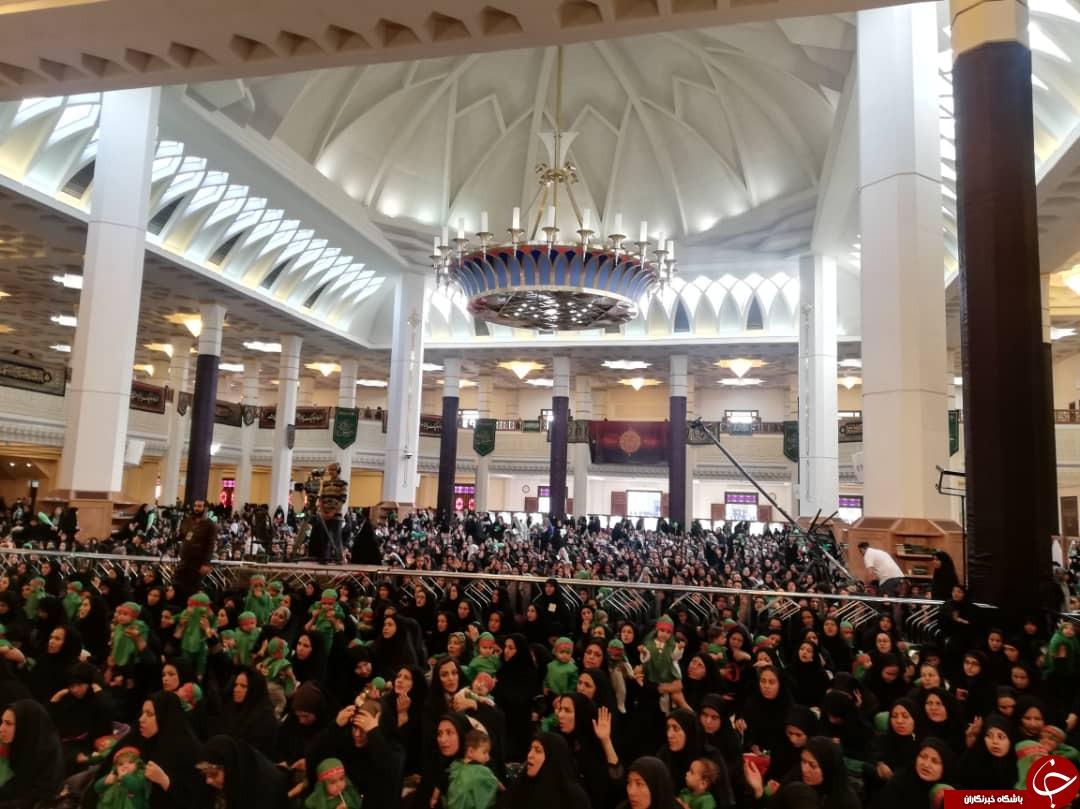 لالایی مادران به یاد نالههای رباب در همایش شیرخوارگان حسینی