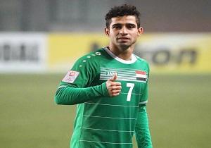 ستاره عراقی دیدار مقابل شاگردان ویلموتس را از دست داد