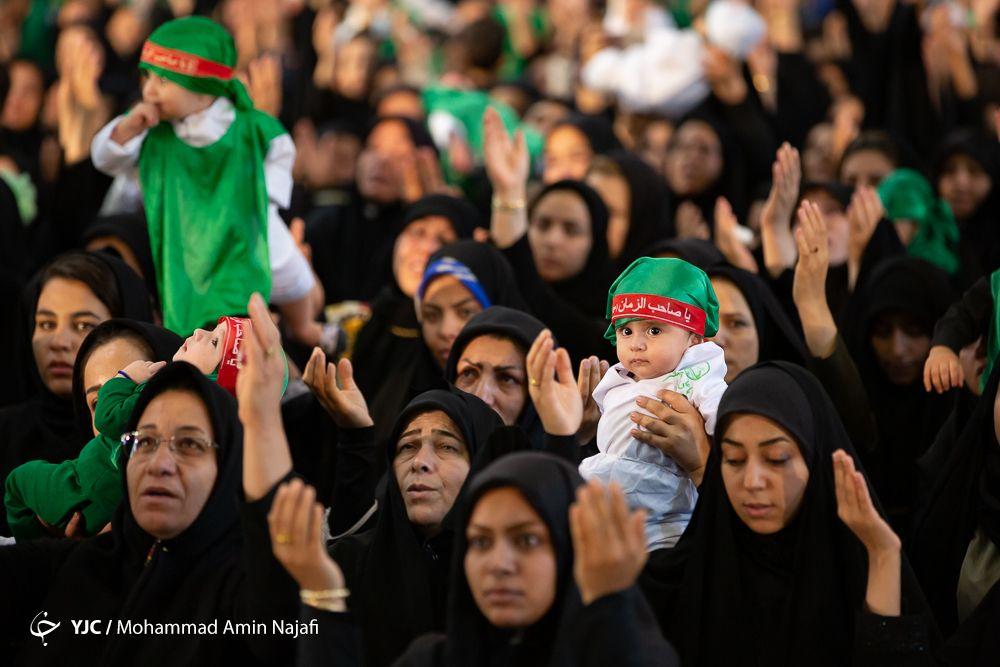 همایش جهانی شیرخوارگان حسینی در همدان+ گزارش تصویری