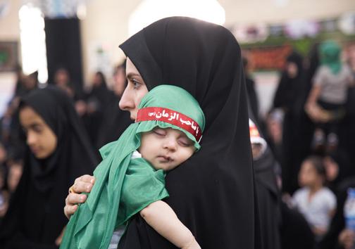 برگزاری همایش شیرخوارگان حسینی در هرمزگان