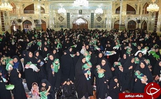 برگزاری همایش شیرخواران حسینی در خراسان جنوبی