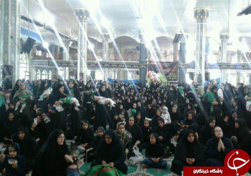 لالایی مادران گلستانی به یاد شیرخواره امام حسین علیه السلام+تصاویر