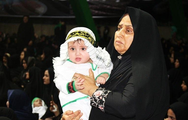 همایش شیرخوارگان حسینی در سیستان و بلوچستان به روایت تصویر