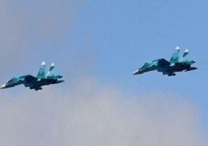 برخورد دو جنگنده بمب افکن سوخو-۳۴ در روسیه
