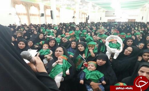 برگزاری همایش شیرخواران حسینی در خراسان جنوبی+ عکس