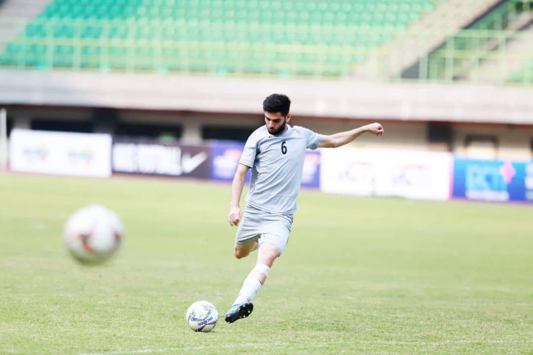 آخرین تمرین تیم ملی فوتبال جوانان ایران پیش از دیدار مقابل اندونزی برگزار شد